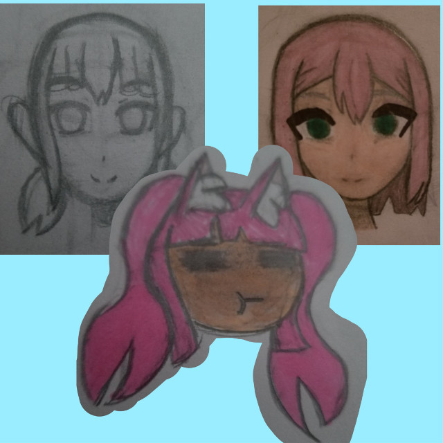 Have some random pictures I've drawn        One totally wasn't inspired by yepitkaminaricandy