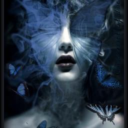 freetoedit butterflygirl rcholographicbutterflies holographicbutterflies