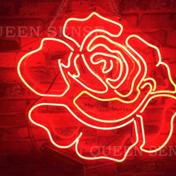 red aesthetic aesthetics flower rose freetoedit
