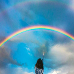 freetoedit rainbow irctouchthesky touchthesky