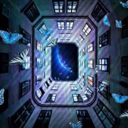 freetoedit picsart tools surreal doubleexposure rcholographicbutterflies holographicbutterflies