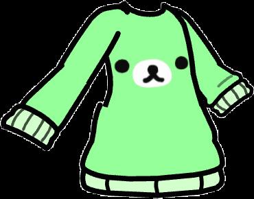 Gacha shirt : green rillakkuma bear! 💚💚 this is part of a matching set, go to my profile for more!! #gacha #gachalife #green #greenaesthetic #cute #bear #freetoedit