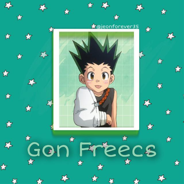 #gon #gonfreecs #green #cute #cast #hxh #hunterxhunter