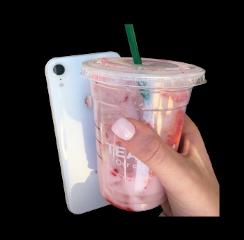 starbucks drink carefree pinkdrink iphone