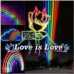 rainbow pride loveislove lgbt lgbtq