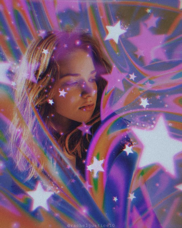 🌠off to join the circus🌠 · · · · #freetoedit #picsart #rainbow #stars #shootingstars #vynl #retrorainbow #retro #retroaesthetic #colorful #circus #bokeh #sparkles #slime
