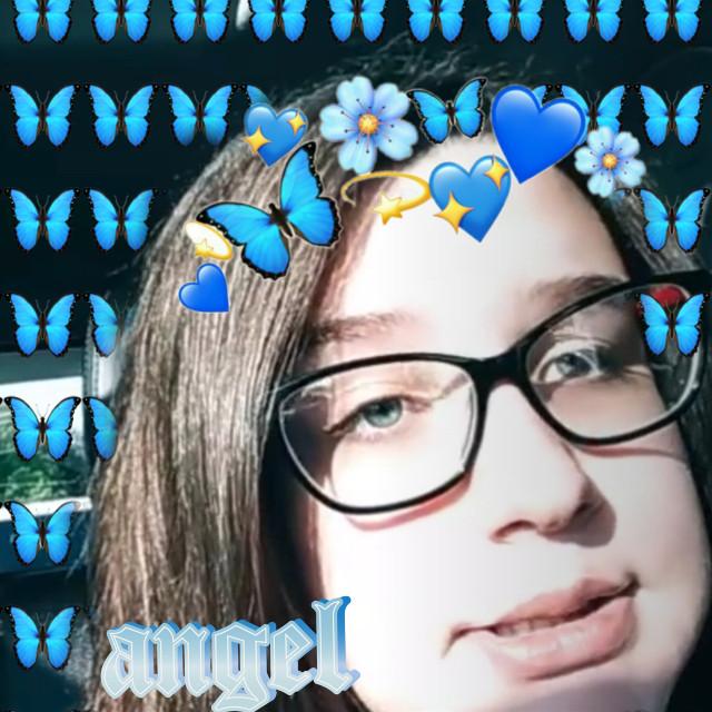 #freetoedit #bestfriend #blue