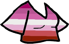 Lesbian pride top! i am sorry this one is so crappy lol.. 💕💕 #gacha #gachalife #lesbian #lesbianpride #pride  #freetoedit