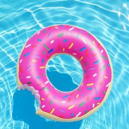 pool summer donut🍩 beautifulday hot
