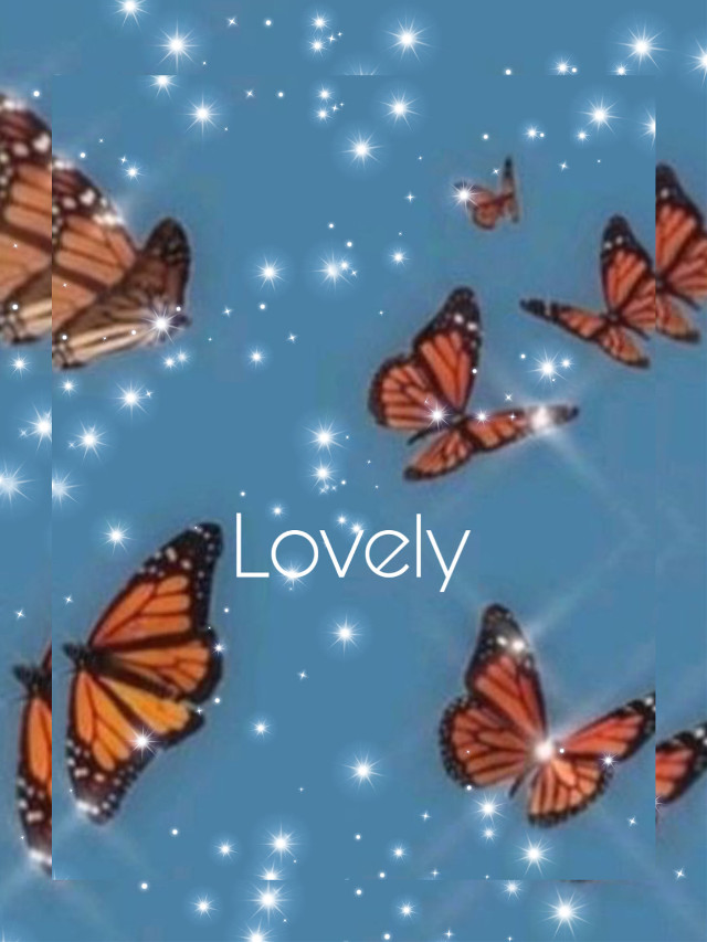 #freetoedit  butterflys are lovley
