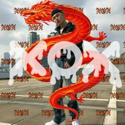 picsart dragon