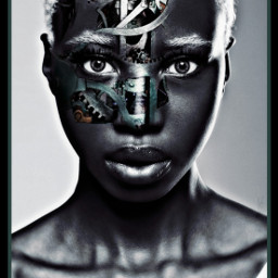 freetoedit bionic woman gears nc86 fcexpressyourself expressyourself ExpressYourself