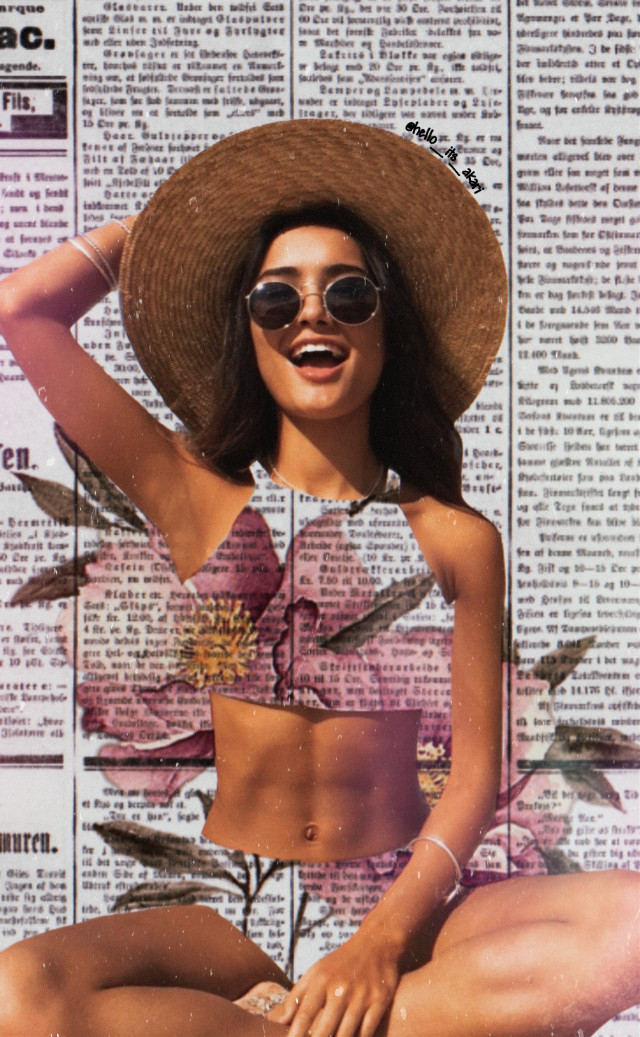 🌺🌺🌺👙👙👙 #freetoedit #aesthetic #aestheticphotos #aesthetically #aestheticedit #papicks #createfromhome #newspaper #stayinspired #picoftheday #picsart #myedit #sand #madewithpicsart #heypicsart #flowers #pink #pretty #summertime #summer #sun #summervibes #beach #summergirl #girl #pretty #havefun #smile #laugh #hat #sunglasses #abs #sunlight #sunshine #beautiful