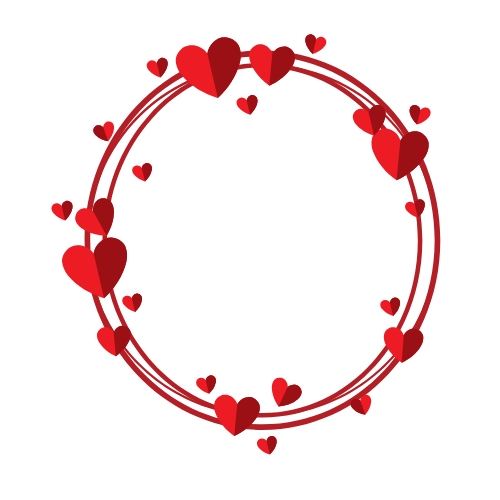 #freetoedit #cirle #frame #transparent #roundframe #circleframe #heartframe #color #red #redhearts  #white #hearts #Aleynah