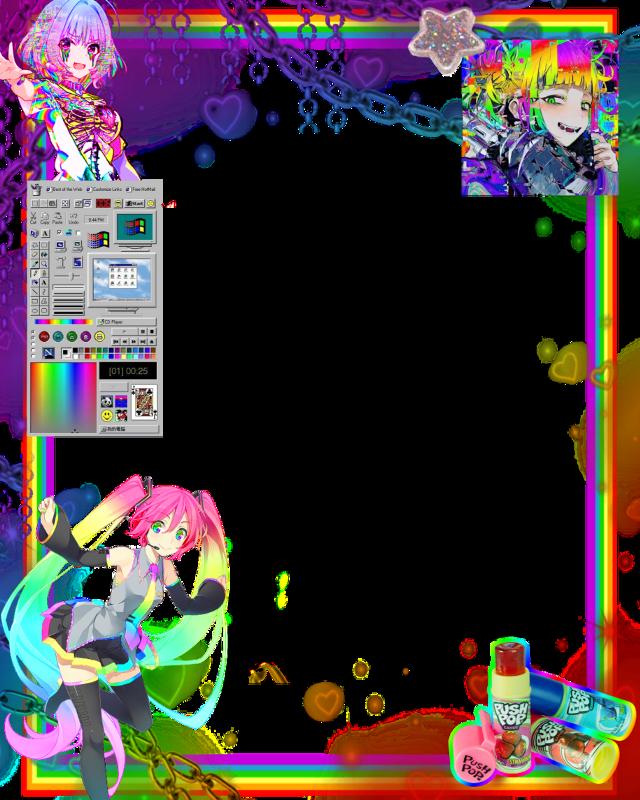 #rainbow #rainbowcore #aesthetic #waifu #rainbowaesthetic #prideflag #pridemonth #pridemonth2k20 #anime #animeaesthetic #animegirl #harajuku #aestheticboard #aestheticframe