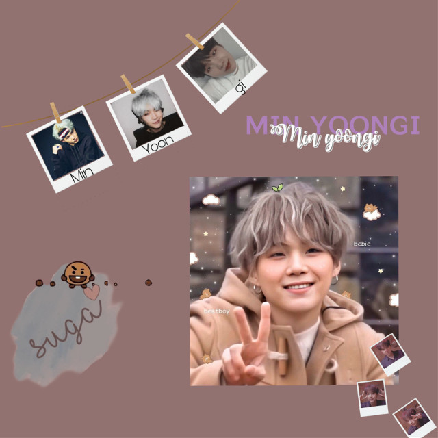 #freetoedit Yoongi ♡