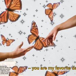 freetoedit butterfly hands letter quote daydream ircreachout reachout