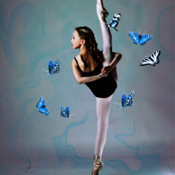 freetoedit lillyk lillianaketchman backwards ballet rcholographicbutterflies holographicbutterflies