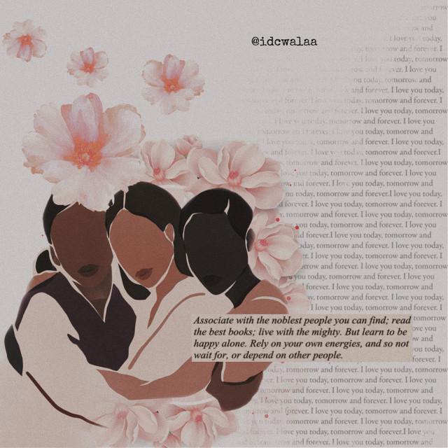 [Original illustration credit: Sacrée Frangine]  #vintagestyle #blm #blacklivesmatter #unity #youarebeautiful