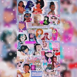 cartooncharacters girlpower disney nickolodeon cartoonnetwork