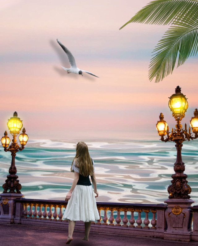 Alone girl !!  #freetoedit #freetoedit  #madewithpicsart #mycreativity #editedbyme  #picoftheday #papicks #manipulation #fantasy #myedit #araceliss