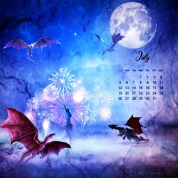 freetoedit dragons fantasyart fantasy imagination srcjulycalendar julycalendar