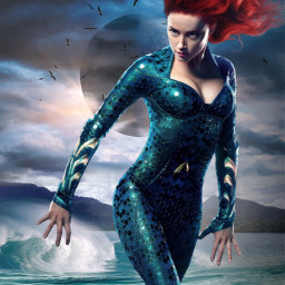 freetoedit mera amberheard aquaman sea dccomics