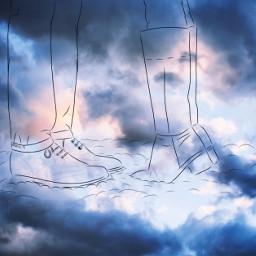 freetoedit clouds love