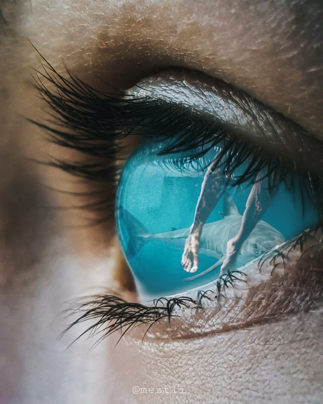 #freetoedit #eye #surreal #visualart @meztli_01