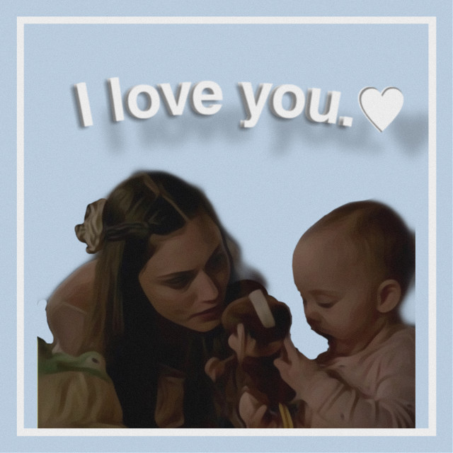 #freetoedit  hope couldnt ask for a better mother 💛 #tvd #orignals #haleymarshall #hopemikaelson
