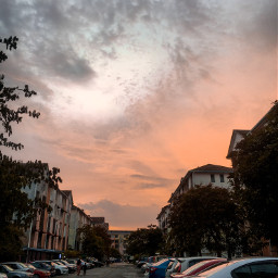malaysia sunset