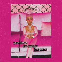 freetoedit imvumodel imvuedit pink fabulous