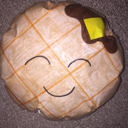 freetoedit waffle papersquishy breakfast