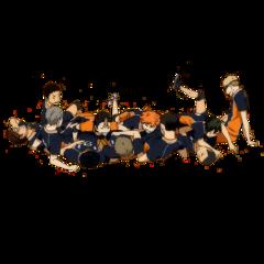 haikyuu karasuno haikyu volleyball karasunofight freetoedit