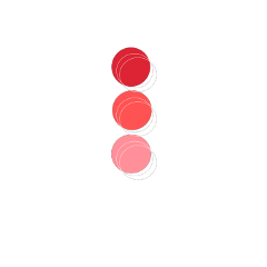 freetoedit red circles redcircles ombre