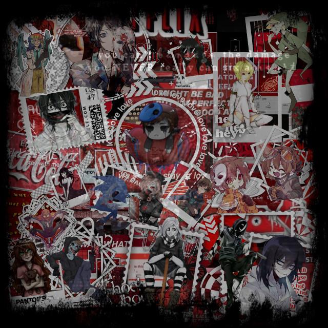 #Creepypasta #jeffthekiller #janethekiller #Sally #bendrowned #ticcitoby #Masky #hoddie #zero #bloddypainter #homicidalliu #smiledog  #freetoedit