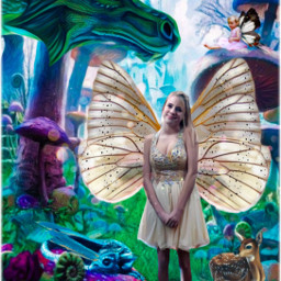 myart myedit fantasyart fairy dragon freetoedit srcspeckledpolkadots speckledpolkadots