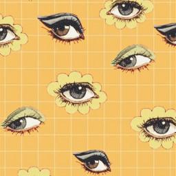 eye aesthetic aestheticedit orange yellow freetoedit