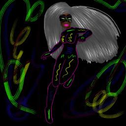freetoedit арт супергероиня рисунок ледибаг