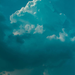 blue clouds sky background backgrounds freetoedit