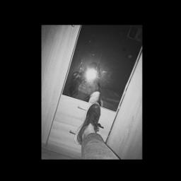 polishgirl mood black fotography mirrorselfie