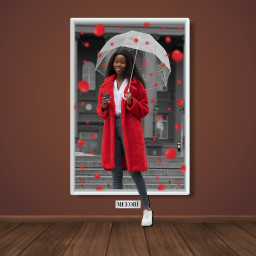 cherry colorsplash colorsplasheffect frame freetoedit ftestickers