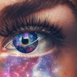 freetoedit eye galaxy galaxymakeup galaxyeyes