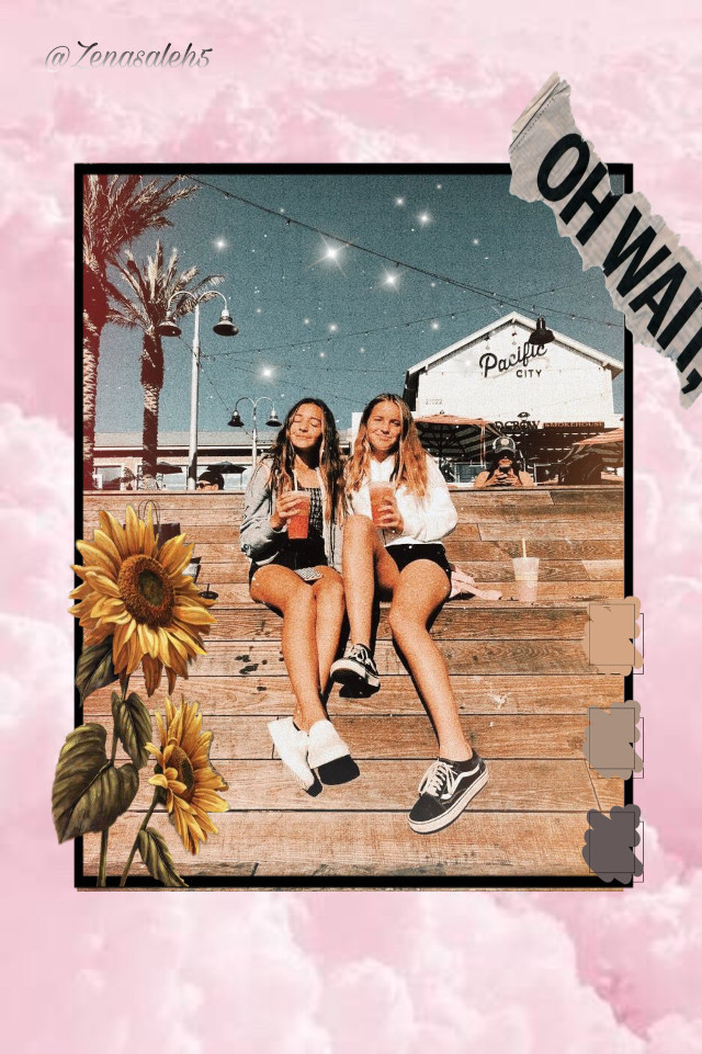 👯♀️𝓸𝓹𝓮𝓷👯♀️  Topic: Bff Colors: Pink, yellow Location of pic: Stairs Hashtags: #bffs4ever#fun#aesthetic  Hey yall, how you doing? Can we get to 60 followers by friday that would mean SO much.   Taglist  {🍏} @pics_ismyart  {🍉} @zainajellyjuice  {🍇} @lizzie_1234567  {🥨} @sunshinedays123  {🍩} @ifatima93  {🍒} @sunny_cloudz_  {🌵} @xx_aestheticpower_xx  {🦋} @dynamic_official  {🌼} @esraaabbasi  {🐬} @manarahmed283 k love you byee!