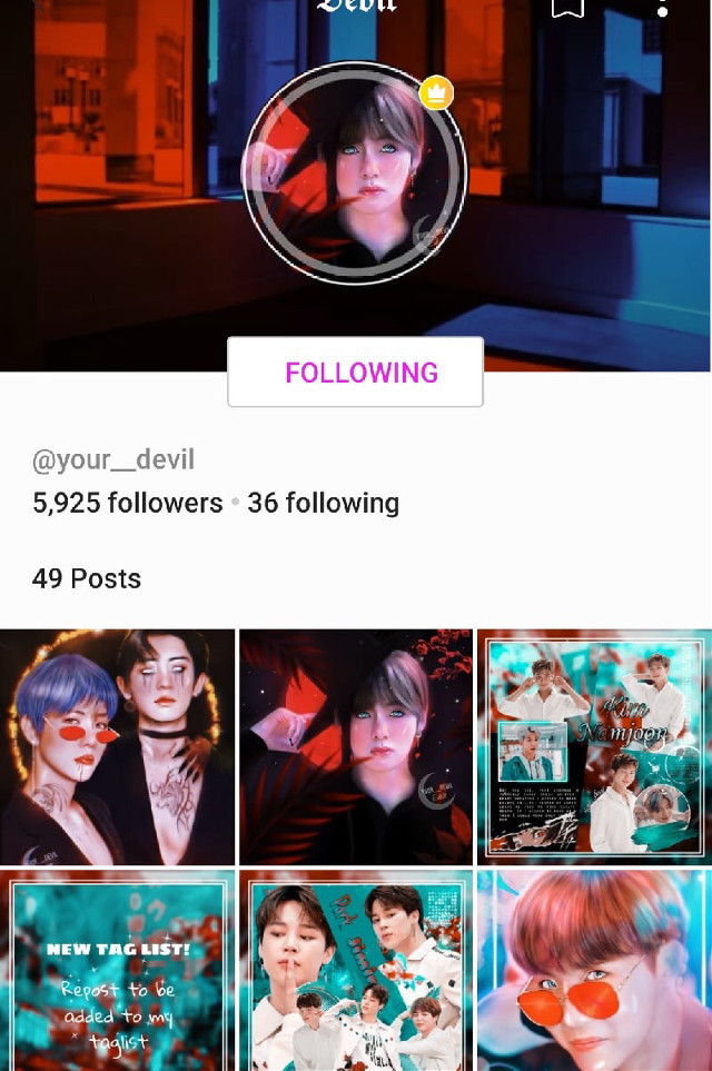 PLZ FOLLOW ➡️@your__devil 💘 He has amazing Edits! 💗💋Go visit and follow @your__devil #your__devil #follow #freetoedit