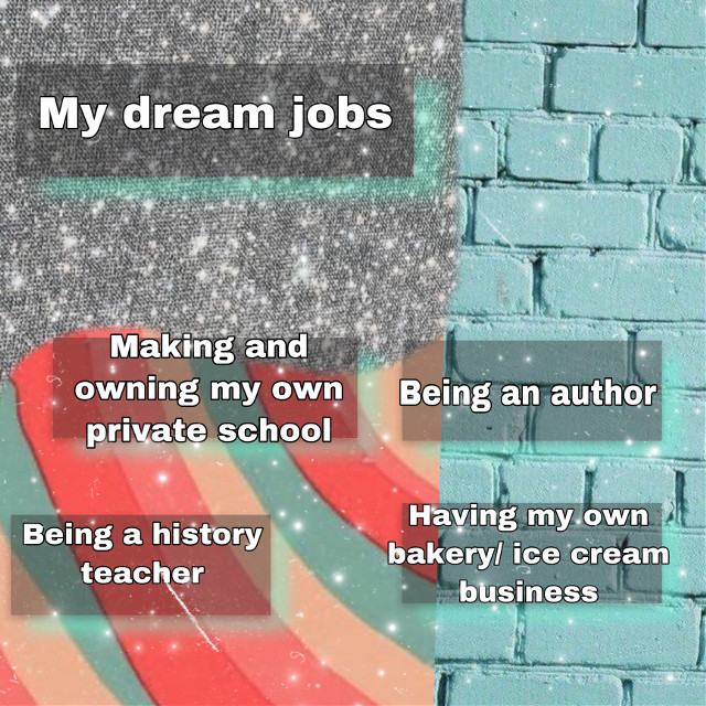 Here are some of my dream jobs that I truly think are some of the best jobs ever! I love each of these jobs and are agreat passion of mine. Please share this post with others and give thos post a like for support!  #dream #jobs #niche #dreamjobs #aesthetic #vsco #trendy #work #hardwork #passion #passionate #love #hope #fun #cute  #freetoedit