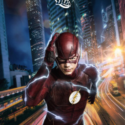 freetoedit flash theflash grantgustin running dccomics