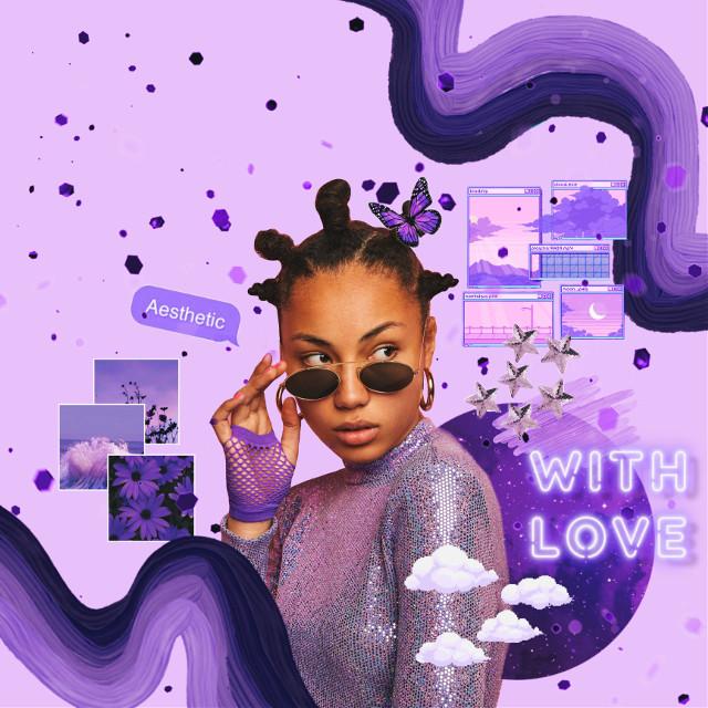 #freetoedit #purple #purpleaesthetic #fit #waves