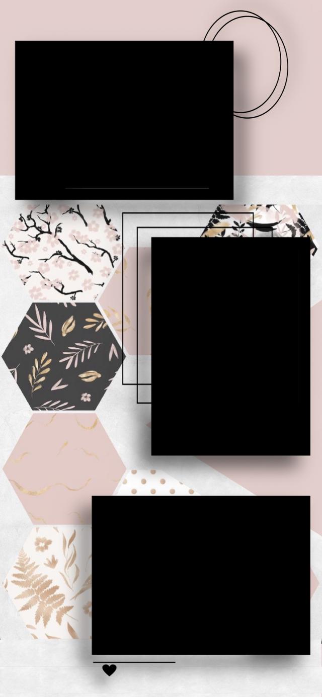 ฅ^•ﻌ•^ฅ    - #polaroids #polaroid #blackpolaroids #blackpolaroid #pictures #pictureframe #frame #background #wallpaper #gold #black #pink #pastelpink #paper #white #marble #freetoedit