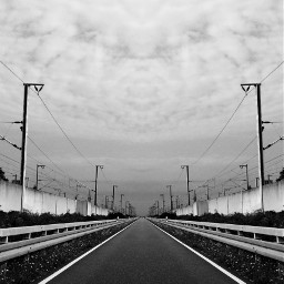freetoedit street mirroreffect blackandwhite photography